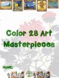 Color 28 Masterpieces