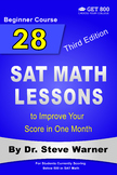 28 SAT Math Lessons to Improve Your Score in One Month - Beginner Course