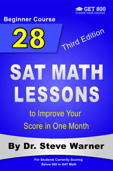28 New SAT Math Lessons to Improve Your Score in One Month