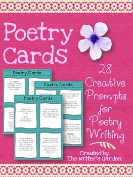 Poetry Writing Task Cards