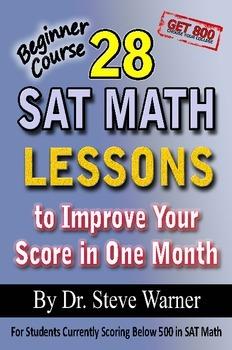 28 SAT Math Lessons - Beginner Course (old SAT)