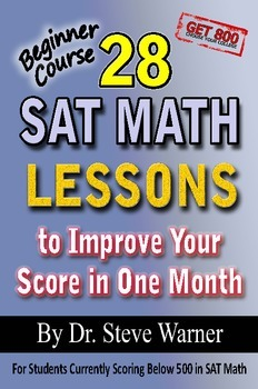 28 SAT Math Lessons - Beginner Course (old SAT)