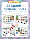 28 Spanish Syllable Sorts – Phonemic Awareness and Alphabe