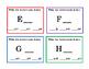 28 Task Cards Alphabet Lower Case Letter  Sight Words Preschool Kindergarten 7p