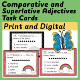 Task Cards for Comparative and Superlative Adjectives