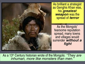 UNIT 5 LESSON 3. The Mongol Empire POWERPOINT