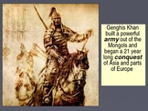 WORLD UNIT 5 LESSON 3. The Mongol Empire POWERPOINT