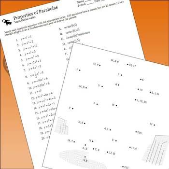 #280 - Properties of Parabolas Picture (Penguin)