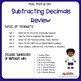Subtracting Decimals Review Worksheets