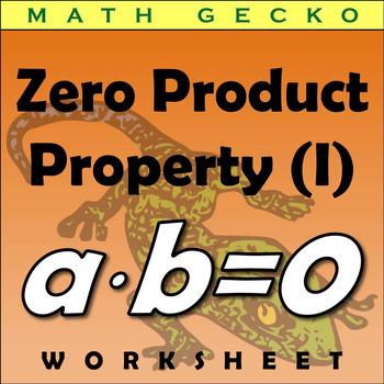 #285 - Zero Product Property Riddle (I)