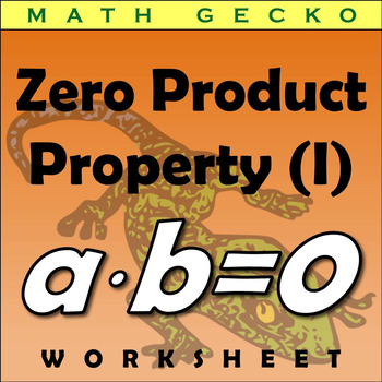#285 - Zero Product Property Riddle (I)