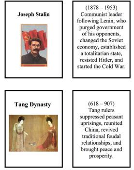 286 World History Flash Cards
