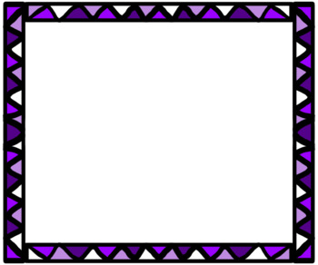 29 Colorful Zig Zag Borders Commerical Use