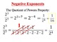 29) Complete Integer Exponents Lesson: PPT & Guided Notes (1.5+ days)