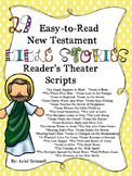 "29 ""Easy-to-Read"" New Testament Bible Story Reader's Theater Scripts"