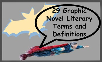 29 Graphic Novel Literary Terms and Definitions