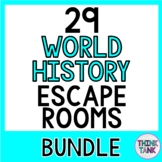 29 World History Escape Rooms! Ancient Rome, Vikings, Silk Road