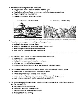 UNIT 5 LESSON 6. World History Unit 5 TEST