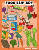291 image files - Food Clip art set