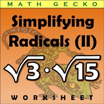#297 - Simplifying Radicals (II) Riddle