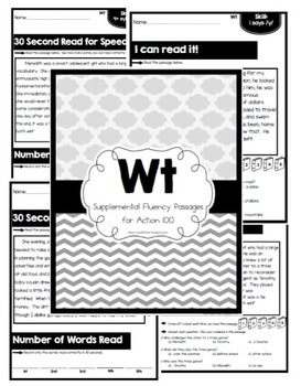 Wt Action 100 Phonics and Fluency Passages