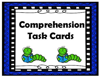 1st Grade (End of the Year) Comp. Task Cards aligned with American Reading Co.