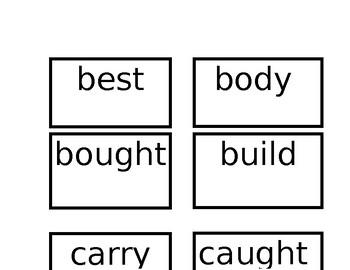 2B Power Words Flash Cards