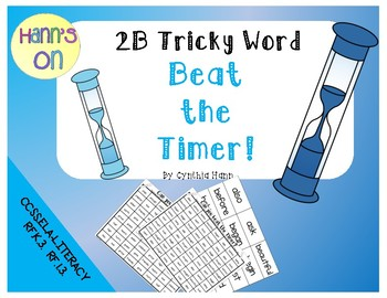 2B Tricky Word Beat the Timer