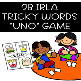 2B Tricky Words UNO-Inspired GAME