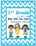 1st Gr. 1.60-1.99 Who Will You Call-Strips (Aligned to American Reading Co IRLA)