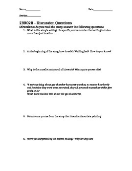 2BR02B - Vocabulary and Discussion Questions