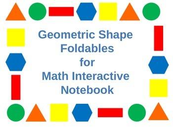 2D & 3D Geometric Figures Foldables