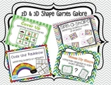 2D & 3D Shapes Game Bundle
