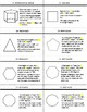 2D & 3D Geometry Flashcards and Marshmallow Activity