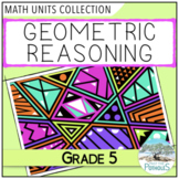 2D 3D Geometry (Geometric Properties of Shapes) - Grade 5 Math Unit