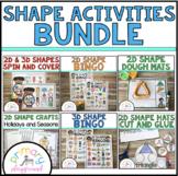 2D & 3D Shape Activities Bundle