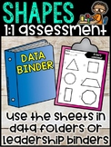2D & 3D Shape Assessment - Teacher 1 on 1 Assessment