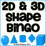 2D & 3D Shape Bingo