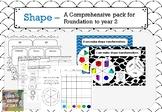2D & 3D Shape Bundle - Comprehensive pack for Foundation t