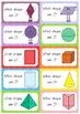 2D & 3D Shape Flash Cards