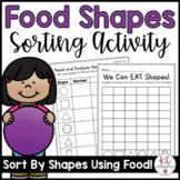 2D & 3D Shape Food Sort