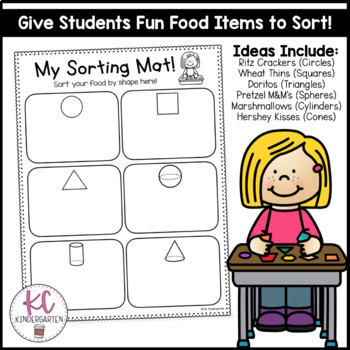 2D & 3D Shape Food Sort