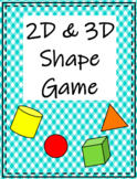 2D & 3D Shape Game