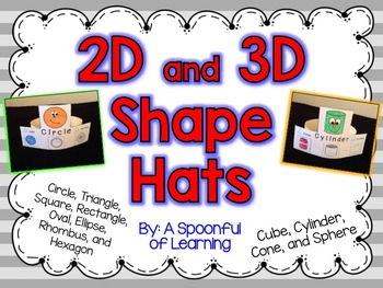 2D & 3D Shape Hats!