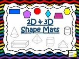 2D & 3D Shape Mats