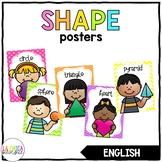 2D & 3D Shape Posters