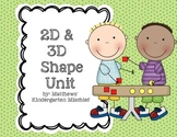 2D & 3D Shape Unit