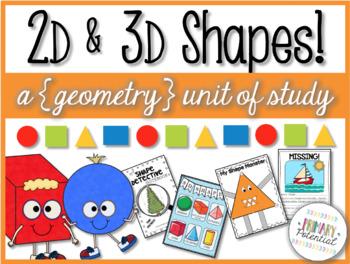2D & 3D Shapes! A {Geometry} Unit of Study