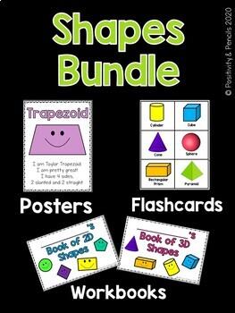 2D & 3D Shapes Bundle!