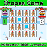 2D & 3D Shapes Game - A Fun Memory Matching Christmas Activity